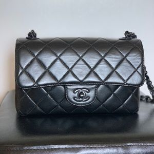 Authentic Chanel small classic flap